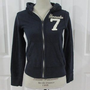 Youth Abercrombie and Fitch Muscle Zip Hoodie